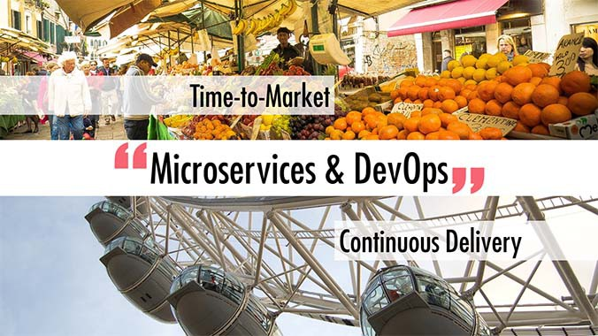 """Microservices & DevOps"" - Time-to-Market  - Continuous Delivery"